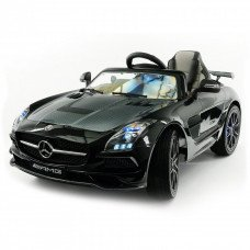 Детский электромобиль Mercedes-Benz SLS AMG Black Carbon Edition - SX128-S