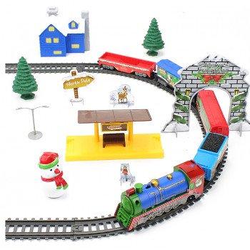 Железная дорога BSQ Новогодний Экспресс 732 см - BSQ-21816