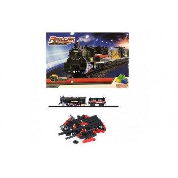 Железная дорога (120 деталей)