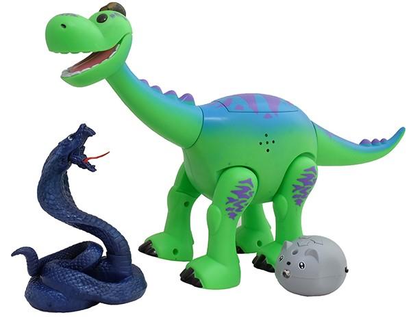 Интерактивная игрушка динозаврик Брахиозавр