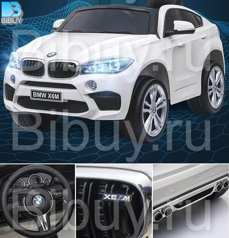 детский электромобиль bmw x6m jj2199